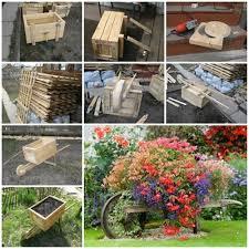 wonderful diy rustic wheelbarrow garden