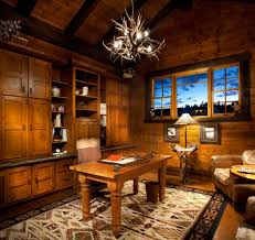 rustic home office ideas. Rustichomeoffice Rustic Office Decor Ideas Home With Regard To