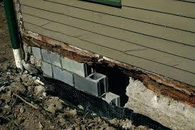vertical in poured basement wall designing an repair concrete crumbling fix walls