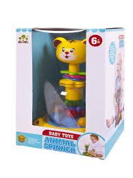 """<b>Игрушка</b> для малышей. Юла """"Тигренок"""", 26х17,5х15 см <b>JUNfa</b> ..."""