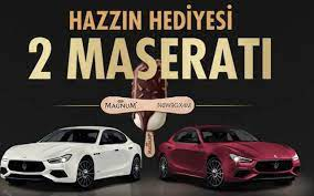 Magnum çekiliş sonuçları belli oluyor Maserati kazanan isimler - Internet  Haber