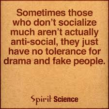 Sometimes Those Who Dont Socialize Much Arent Actually Anti Social