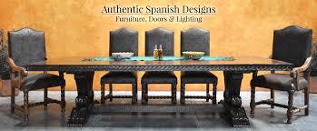 antique dining room tables for you elegant spanish style furniture doors lighting demejico los