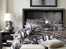 details about full queen california or king black genuine leather headboard w nail heads