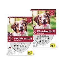 K9 Advantix Ii 21 55 Lbs 12 Month Supply Red