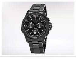 best black watches for men askmen victorinox is best known for its iconic swiss army knife and this cool chronograph has the same sort of rugged style it uses a proper pvd coating as well