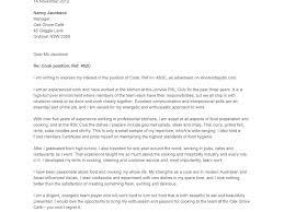 Restauranter Letter Examples Server Waitress Resume For Fast Food