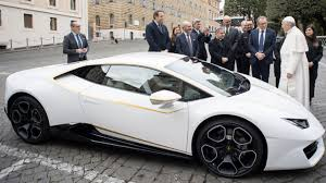 Pope Francis Just Got a Brand New Lamborghini Huracan, Which Sure ...