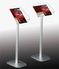Display Stands For Pictures Interesting A32 Freestanding Brochure Display Stands Signs 32 Schools