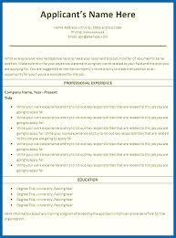 Blank Resume Templates To Print Piqqus Com