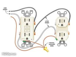 gfi wire diagram gfci outlet wiring diagram wiring diagram gfci outlet wiring diagram