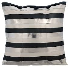 metallic leather 40x40 leather silver cushion covers its silver modern ter cushions by the homecentric