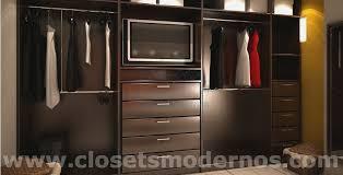 closet modernos para habitacion