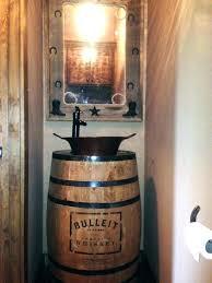 whiskey barrel vanity whiskey barrel sink whiskey barrel sink rustic powder bathroom with whiskey barrel vanity whiskey barrel vanity whiskey barrel sink