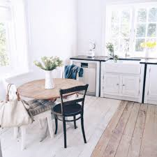 White Floor Kitchen Beach Cottage Kitchen White Floor Progress A Life By The Sea Life