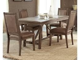 Liberty Furniture Stone Brook Casual 5 Piece Trestle Table Set