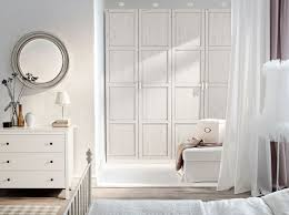 white bedroom furniture sets ikea white. pax white wardrobe with hemnes stained doors and chest of drawers ikea bedroom furniture sets