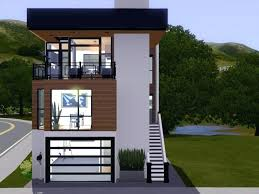 plans outstanding narrow lot modern house plans with front garage ultra small philippines