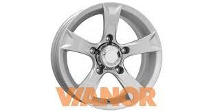 Купить диски <b>КиК Триал 6.5x15/5x139.7</b> D98.1 ЕТ30 Сильвер в ...