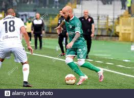Fabio Tito von US Avellino während des Lega Pro Playoff-Spiels zwischen US  Avelino und AC Padova am 9. Juni 2021 im Partenio Adriano Lombardi-Stadion  in Avellino, Italien. (Foto von Alessandro Pirone/Medialys Images/Sipa