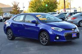 toyota corolla 2015 blue.  2015 2015 Toyota Corolla S For Blue 5