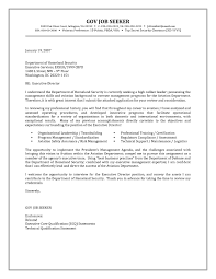 Writing A Cover Letter For Government Job 12 Sample Federal