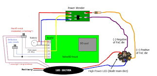 sabersd ledengin 10w led and auxiliary flash page 1 wiring diagram of what i m talking about fyi Â
