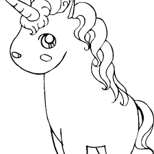 Free Unicorn Coloring Pages Cute Unicorn Coloring Pages For Girls