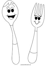 Disegno Forchetta Per Bambini Asilo Cerca Con Google Bimbi Le