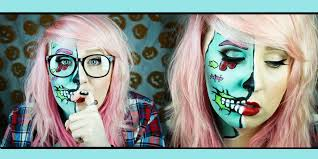 hipster zombie pop art makeup tutorial