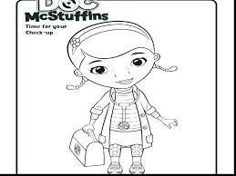 Doc Mcstuffin Coloring Pages Doc Coloring Sheets Coloring Pages For