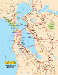 asisbiz  tourist map san francisco bay area north california