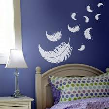 bedroom wall decoration ideas. Romantic And Left Bedroom Wall Design Creative Decorating Ideas Bedroom Wall Decoration Ideas
