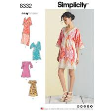 Simplicity Pattern New Simplicity Pattern 48 Misses' Dresses