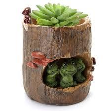 office flower pots. Lovely-Resin-Plant-Succulent-Flower-Pot-Many-Cartoon- Office Flower Pots F
