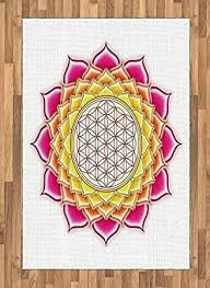 sacred geometry area rug picturesque of lotus by flower life pattern