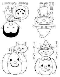 Small Picture Printable Halloween Coloring Books Happiness is Homemade