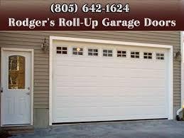 rollup garage doorGarage Door Repair Santa Barbara CA 805 6421624 Rodgers Roll
