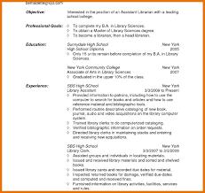 9 10 Librarian Resume Objective Juliasrestaurantnj Com