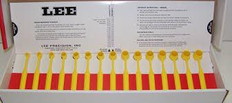 Lee Dipper Chart Lee Pm1410 Lee Precision Powder Measure Dipper 3 1cc