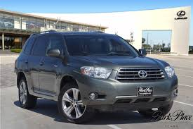Used Toyota Highlander Vehicles For Sale - Park Place