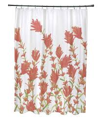 Coral Design Shower Curtain Amazon Com E By Design Scfn433or9 Lavender Floral Print