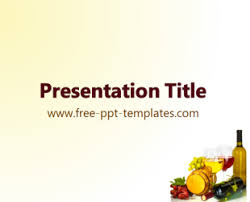 Wine Powerpoint Template Wine Powerpoint Template Is A White Template With An Appropriate