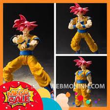 🌟GIÁ HỦY DIỆT🌟 Mô Hình Son Goku Super Saiyan God Dragon Ball Super 7 Viên  Ngọc Rồng SHF - S.H. Figuarts Full Box