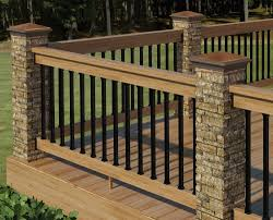 diy wood deck railing ideas house design gorgeous