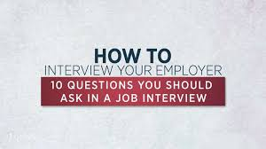 good questions to ask during a job interview 10 job interview questions you should ask