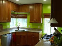 Dark Green Kitchen Cabinets Kitchen Modern Dark Green Kitchen Decoration With Brown Wooden L