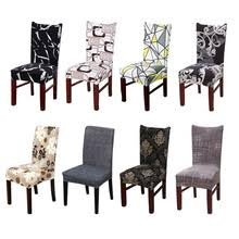 black kitchen chair cover stretch elastic seat chair kitchen slipcover chair covers flower plaid dining chair