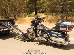 Load and transport Motorcycles, Rampage Motorcycle Lift for Pickup ...