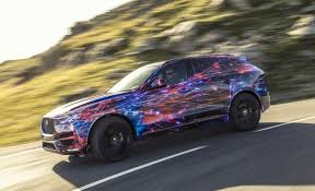 new release jaguar carJaguar Releases Details and Photo of FPace Crossover  News  Car